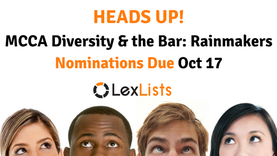 lexlists-heads-up-mcca-diversity-and-the-bar-2016-rainmakers-list-2016-10-17