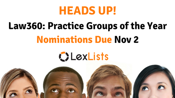 lexlists-heads-up-law360-practice-groups-of-the-year-2016-11-02-blog