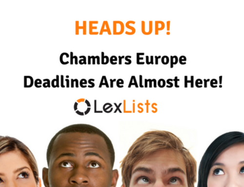 Chambers Europe-wide Due Soon!
