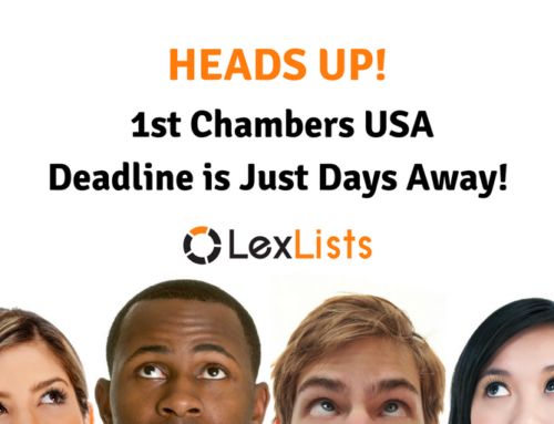 Chambers USA June Deadline is Upon Us